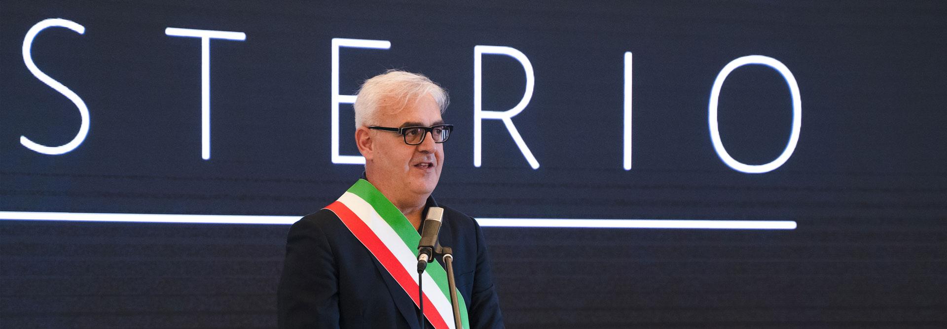 Ritratto di Romano Carancini Sindaco di Macerata Candidato alla regione Marche